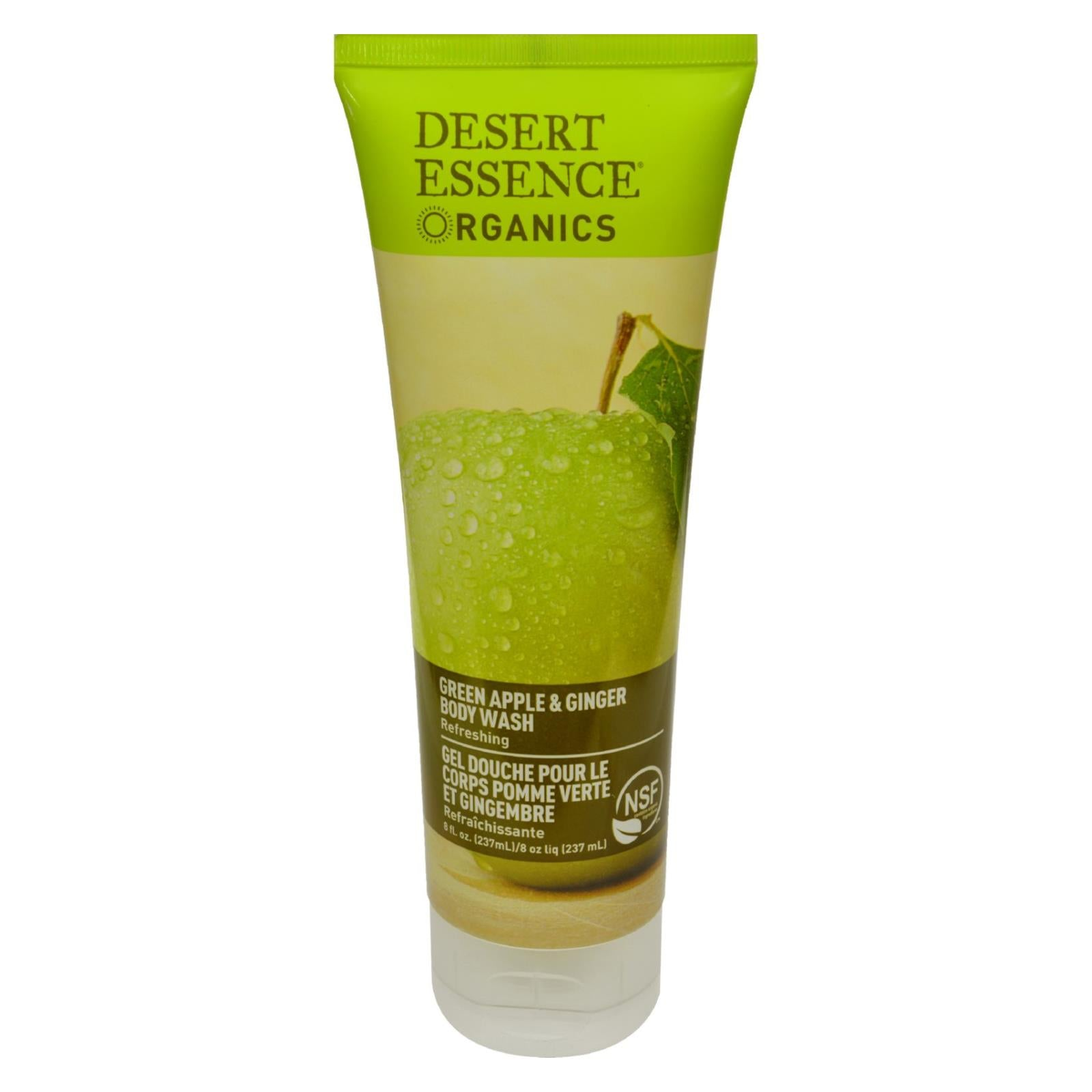 Buy Desert Essence Body Wash Green Apple and Ginger - 8 fl oz - Body Wash from Veroeco.com