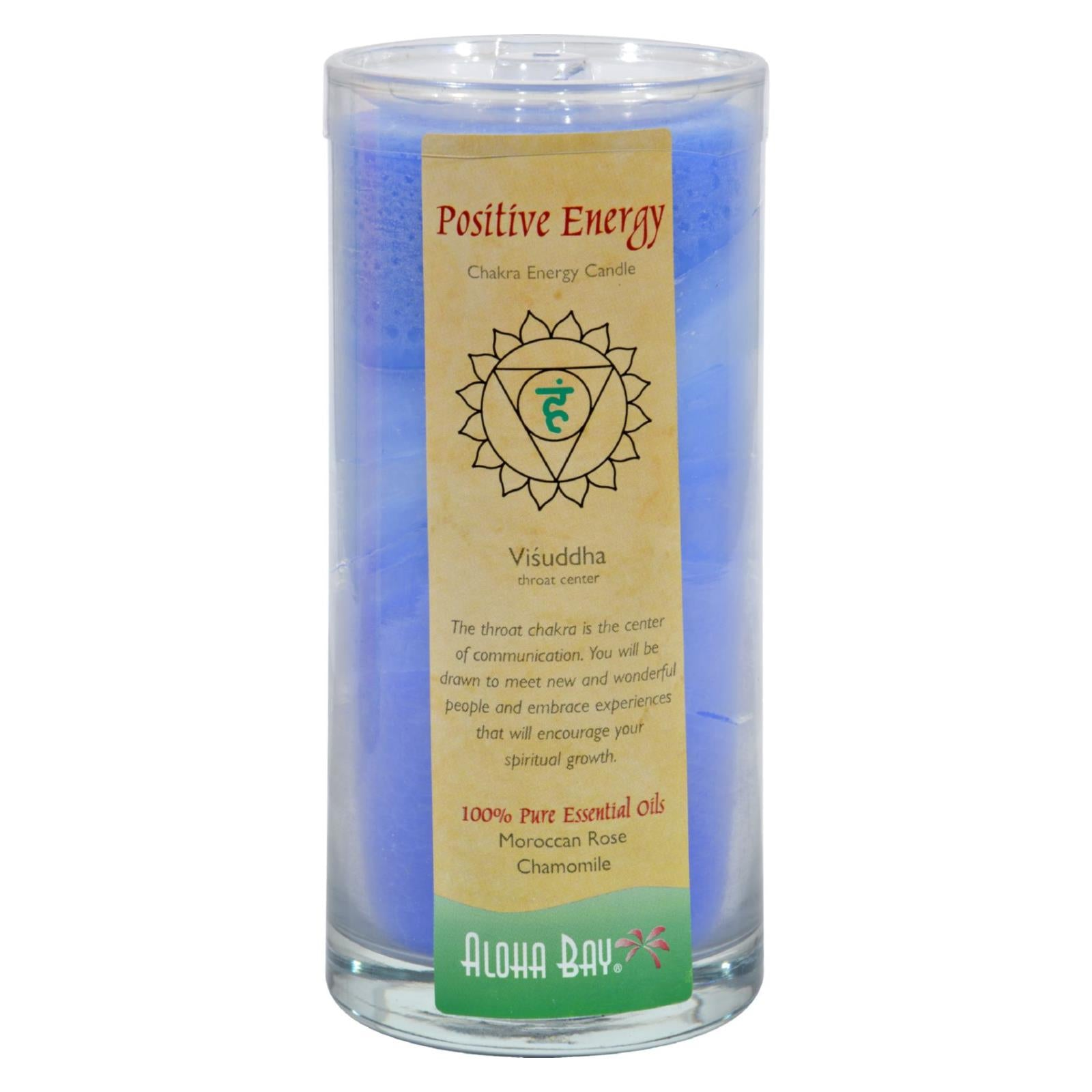 Buy Aloha Bay Chakra Candle Jar Positive Energy - 11 oz - Jar Candles from Veroeco.com