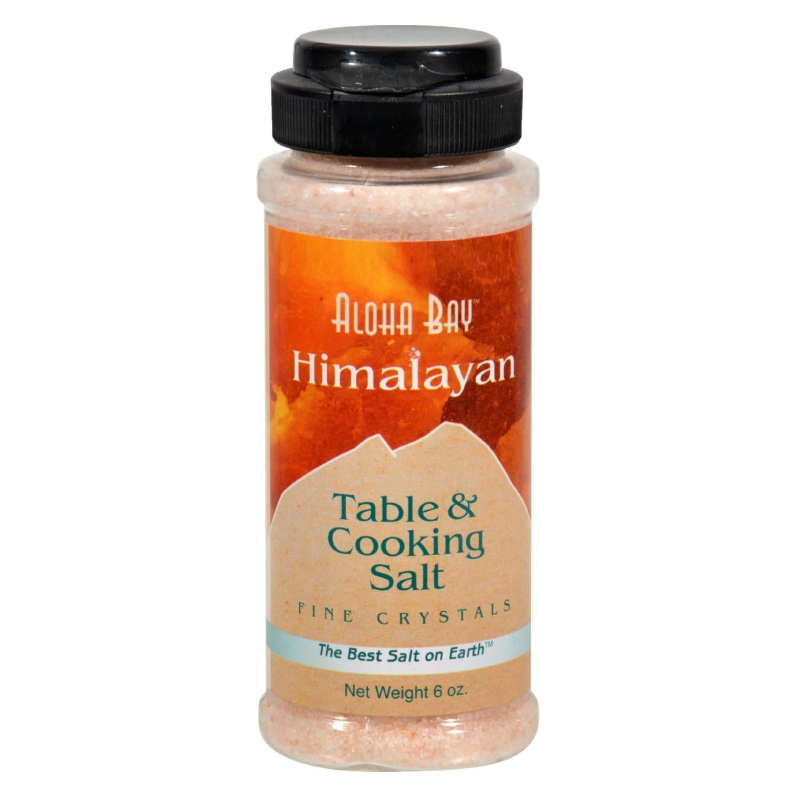 Buy Himalayan Table And Cooking Salt Fine Crystals - 6 oz - Salt, Spices and Seasonings from Veroeco.com