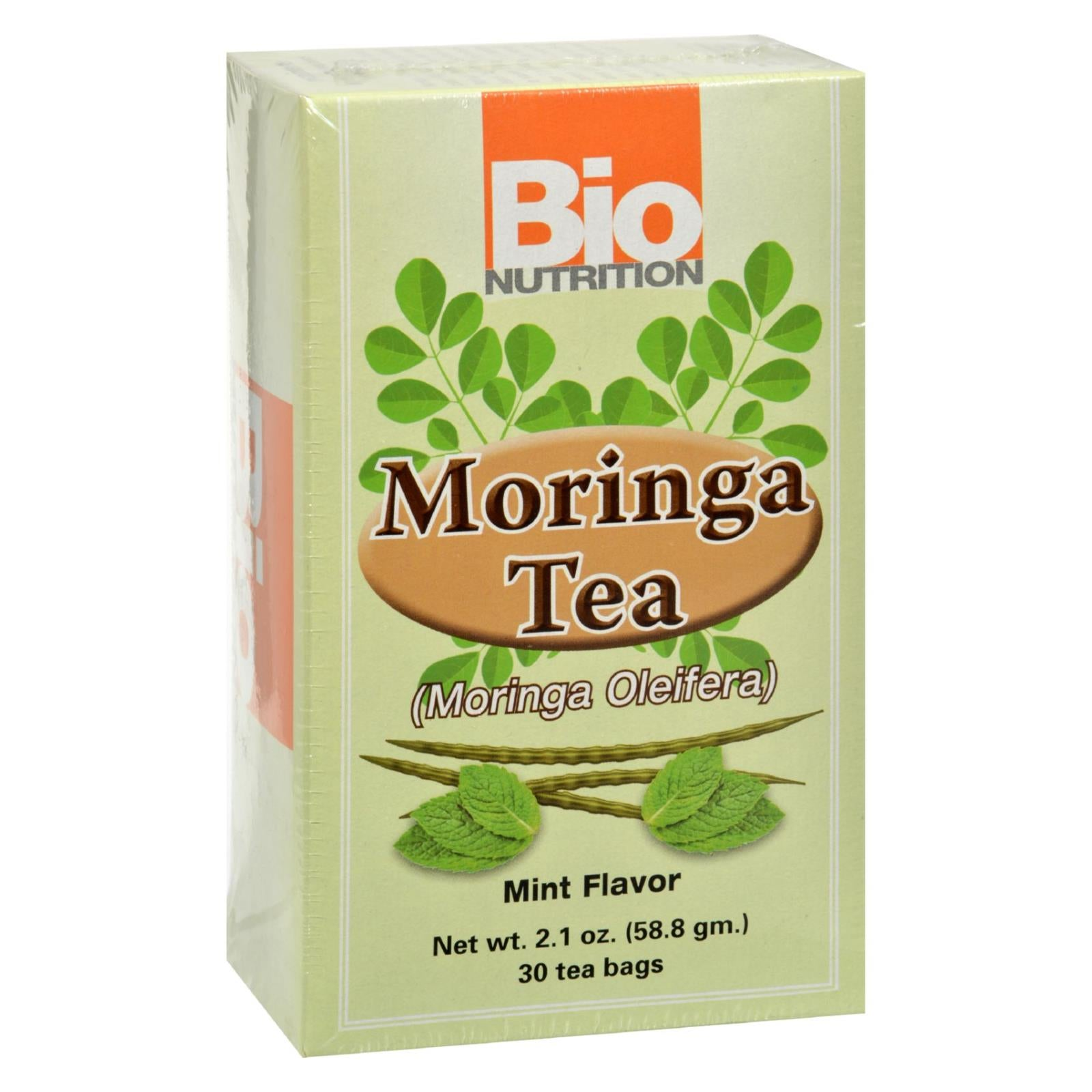 Buy Bio Nutrition Tea - Moringa Mint - 30 Bags - Wellness Tea from Veroeco.com