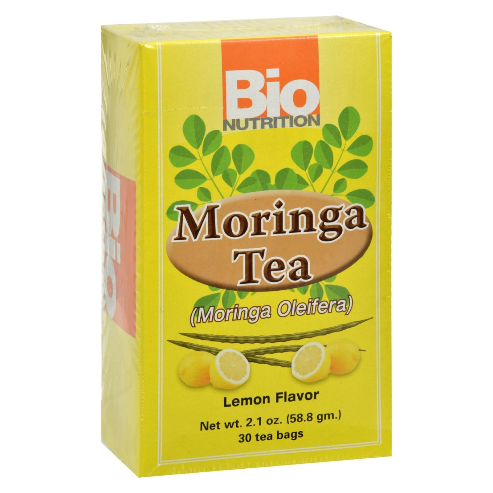 Buy Bio Nutrition Tea - Moringa Lemon - 30 Bags - Wellness Tea from Veroeco.com