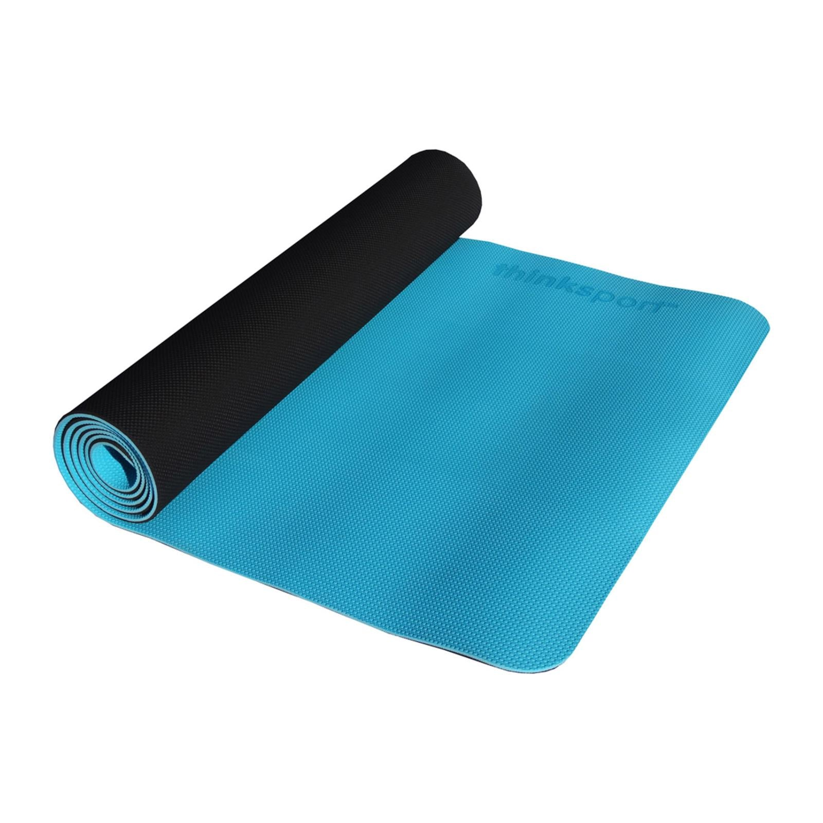 Buy Thinksport Yoga Mat - Black/Bright Blue - Yoga from Veroeco.com