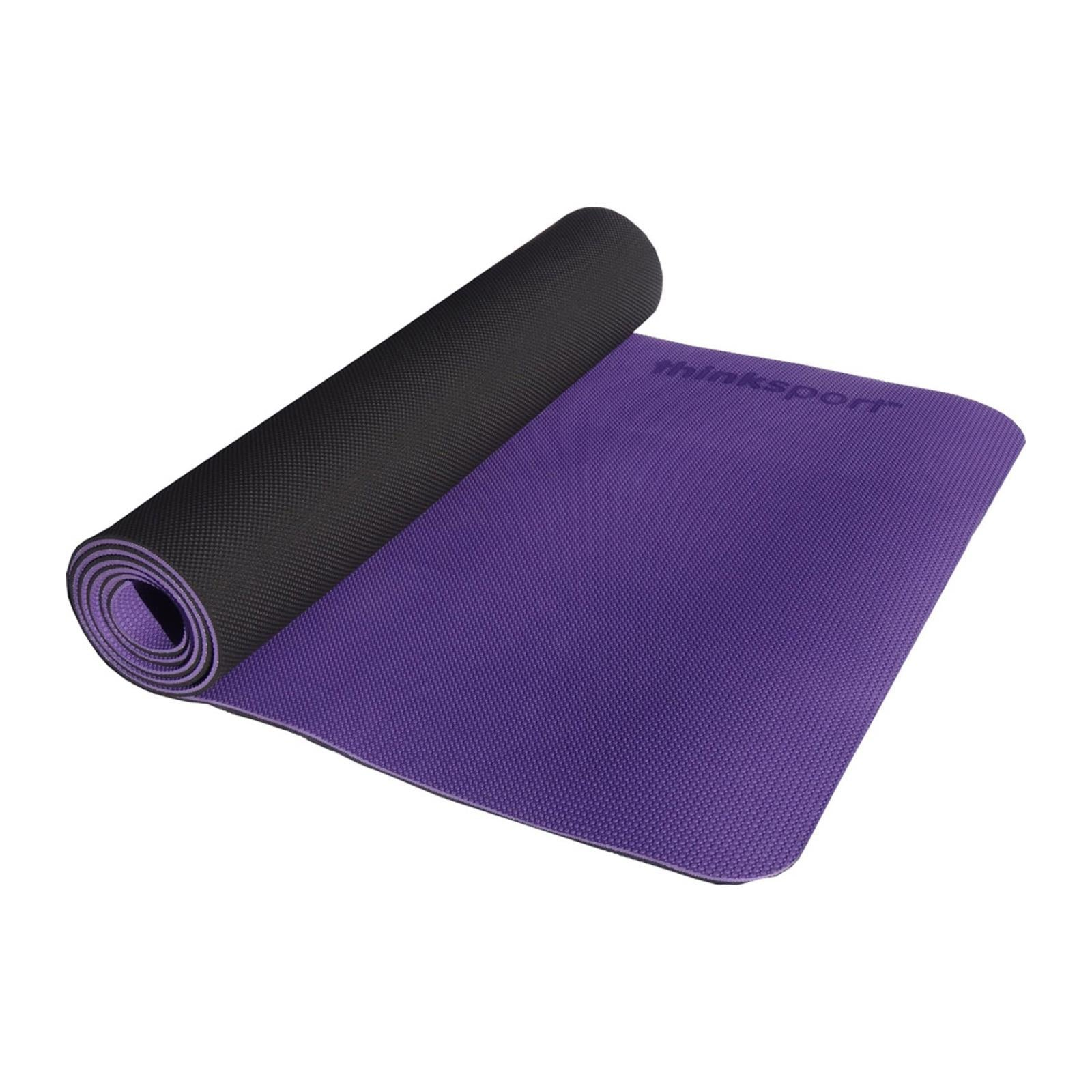 Buy Thinksport Yoga Mat - Purple/Black - Yoga from Veroeco.com