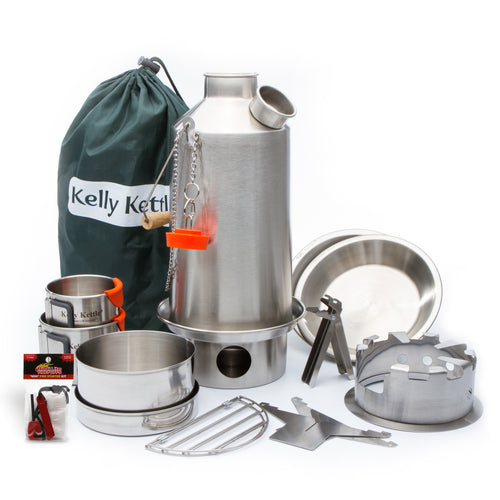 Kelly Kettle Ultimate Stainless Base Camp