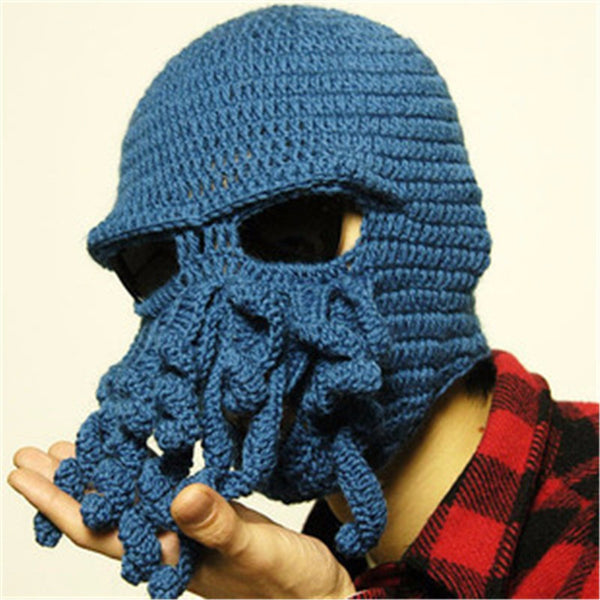 Cthulhu Crocheted Face Mask