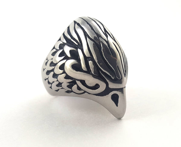 Steel Owl Ring
