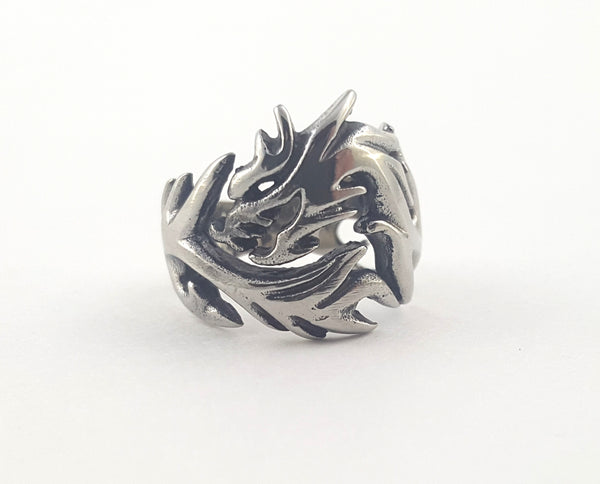 Steel Dragon Ring