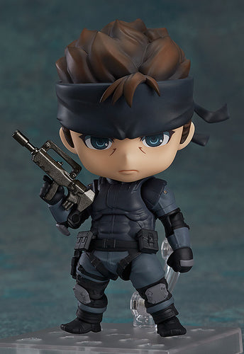**PRE-ORDER**  SOLID SNAKE - Metal Gear Solid - Nendoroid - Good Smile Company