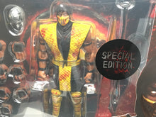 2 PACK! Mortal Kombat SCORPION & SUB-ZERO **SPECIAL EDITIONS** Storm Collectibles!
