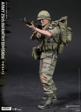**PRE-ORDER** - ARMY 25th INFANTRY DIVISION PRIVATE - 1/12 Pocket Elite Series - DAMTOYS