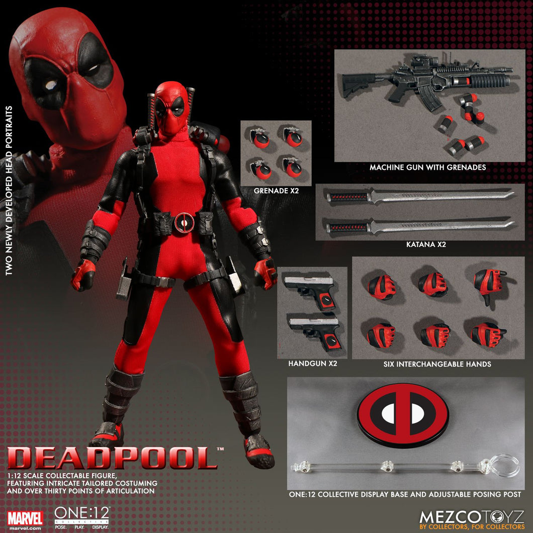 MARVEL - DEADPOOL ONE:12 COLLECTIVE - MEZCO
