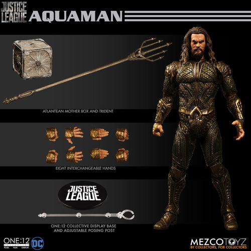 AQUAMAN - Justice League - ONE:12 Collective - MEZCO