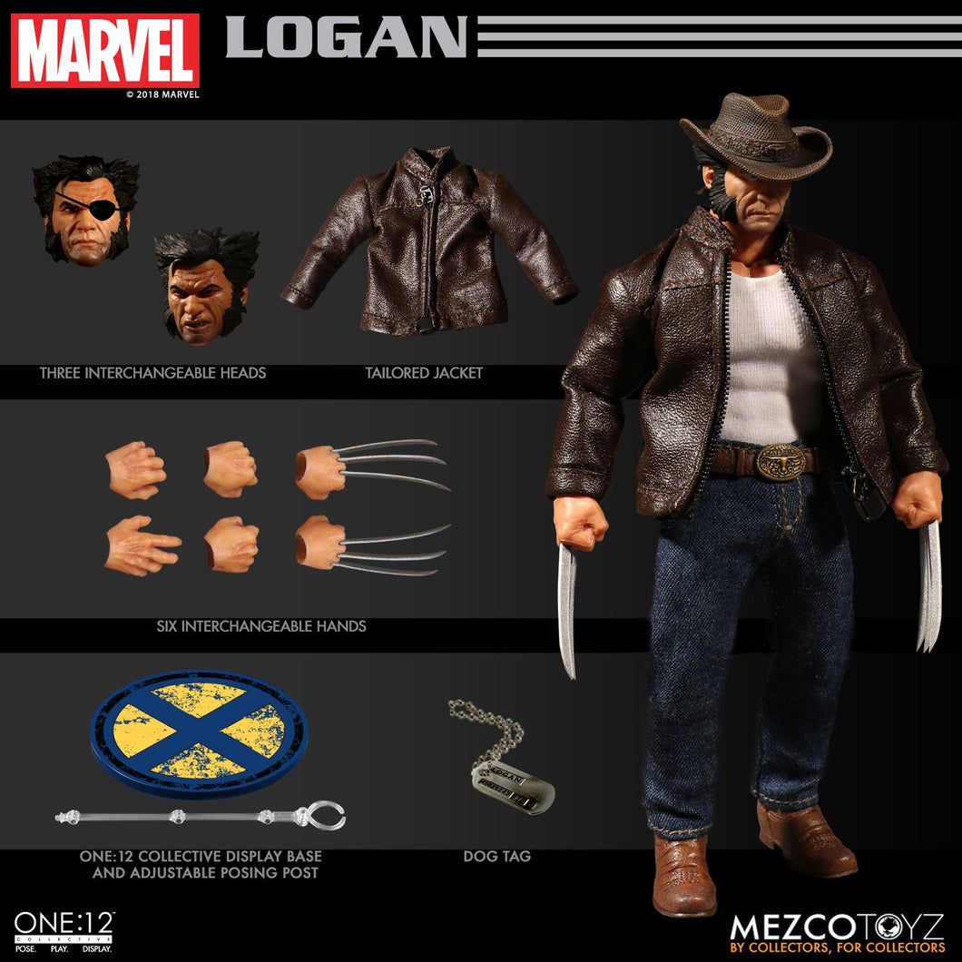 **PRE-ORDER** - LOGAN - ONE:12 Collective - MEZCO