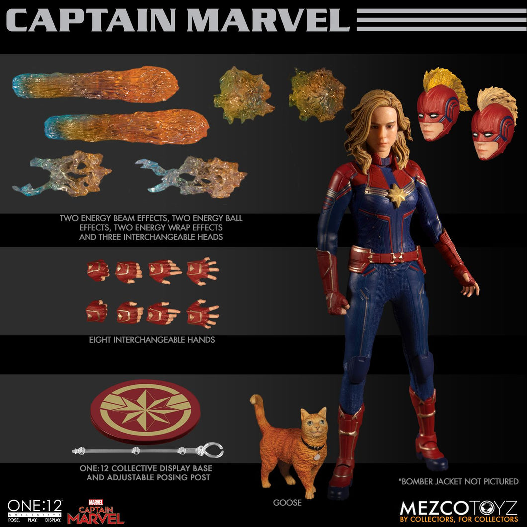 **PRE-ORDER** - CAPTAIN MARVEL - ONE:12 Collective - MEZCO