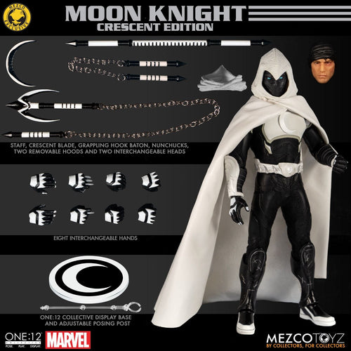 MOON KNIGHT - Cresent Edition - MDX Exclusive - ONE:12 Collective - MEZCO