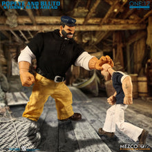 **PRE-ORDER** - POPEYE & BLUTO - Stormy Seas Ahead Deluxe Box Set  - ONE:12 Collective - MEZCO