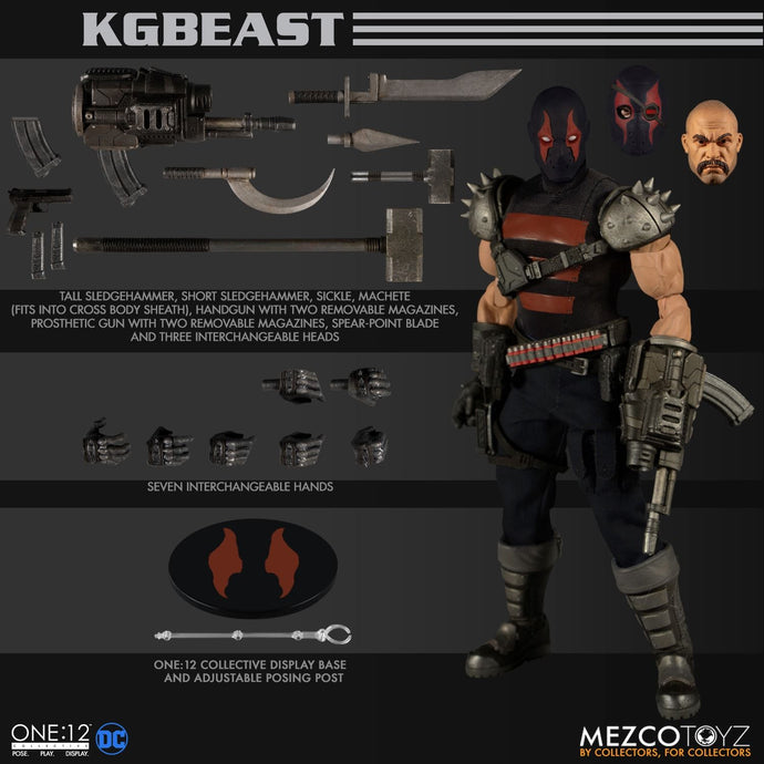 KGBEAST - ONE:12 Collective - MEZCO