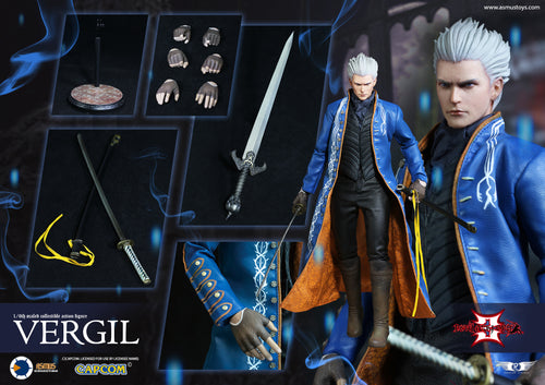 **PRE-ORDER** - Devil May Cry - VERGIL - 1/6 Scale Figure - ASMUS TOYS