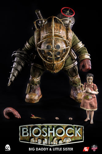 Bioshock - BIG DADDY & LITTLE SISTER - 1/6 Scale - ThreeZero / 3A