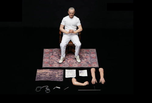 Silence Of The Lambs - HANNIBAL White Prison Uniform - 1/6 Scale - Blitzway - BW-UMS10301
