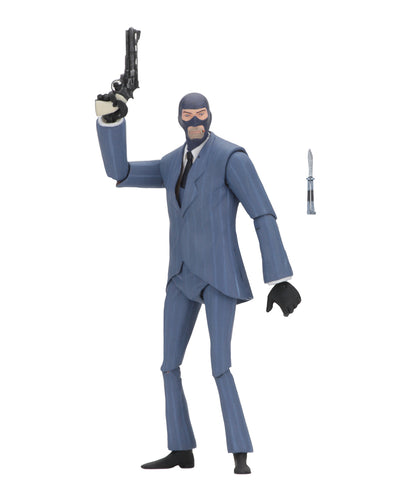 BLU SPY - Team Fortress 2 – 7″ Scale Action Figures – Series 3.5 BLU - NECA