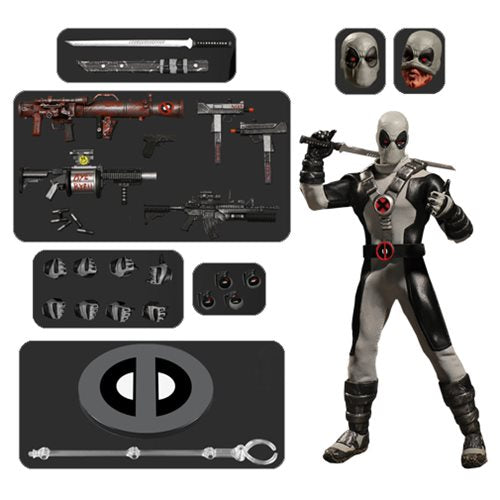 DEADPOOL X-FORCE PX- One:12 Collective Action Figure - MEZCO