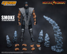 [DENTED BOX] SMOKE - MORTAL KOMBAT - NYCC 2018 - 1/12 Scale Figure - Storm Collectibles