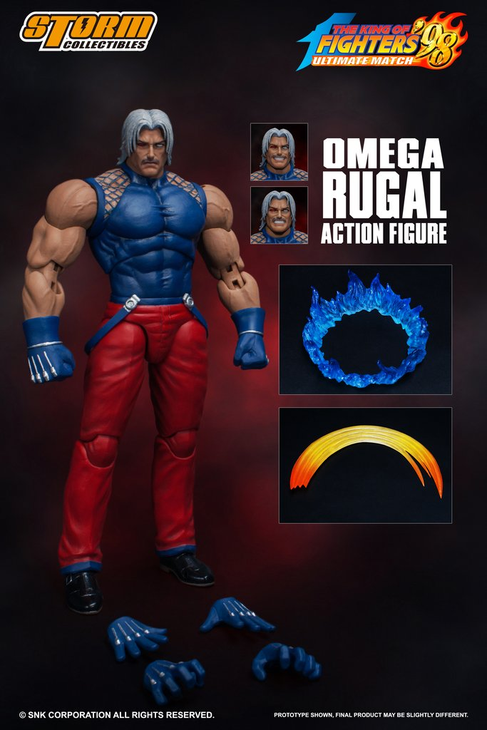 OMEGA RUGAL - The King Of Fighters '98 Ultimate Match - Storm Collectibles