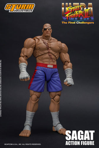 **PRE-ORDER** - SAGAT - Ultra Street Fighter II - Storm Collectibles