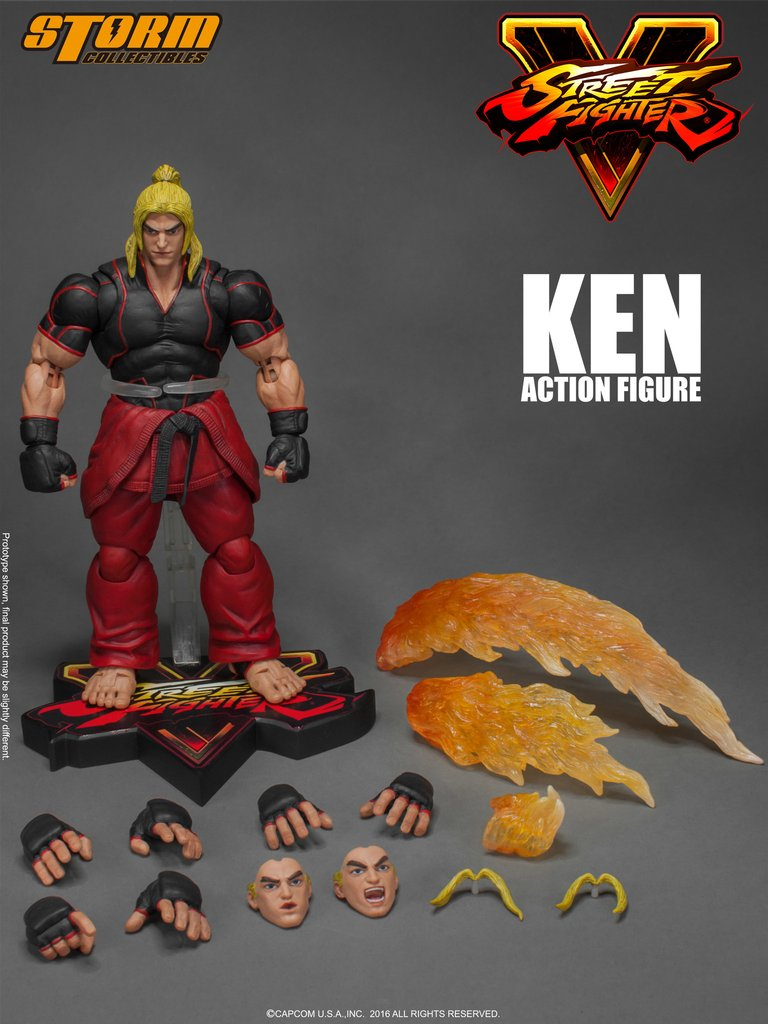 STREET FIGHTER V - KEN - 1/12 Scale Figure - STORM COLLECTIBLES