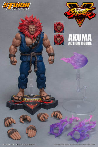 STREET FIGHTER V - AKUMA - 1/12 Scale Figure - STORM COLLECTIBLE