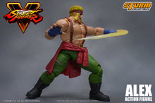ALEX -Street Fighter V - 1/12 Scale Figure - Storm Collectibles