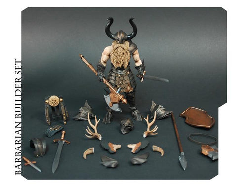 BARBARIAN BUILDER DELUXE - Mythic Legions
