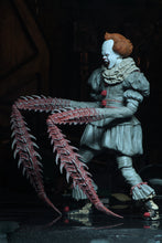 "ULTIMATE DANCING CLOWN PENNYWISE - IT (2017) - 7"" Scale Action Figure - NECA"