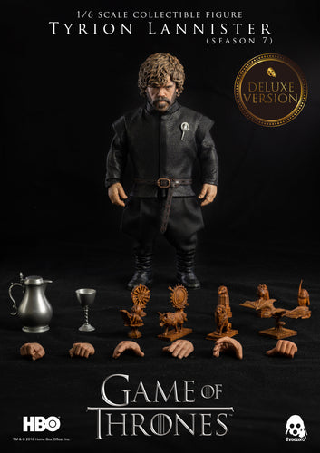 **PRE-ORDER** - Game Of Thrones - TYRION LANNISTER Season 7 - Deluxe Version 1/6 Action Figure - ThreeZero