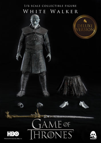 **PRE-ORDER** - Game Of Thrones - White Walker DELUXE VERSION - 1/6 Scale Action Figure - ThreeZero
