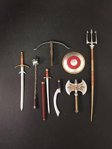 KNIGHT WEAPON PACK - Mythic Legions