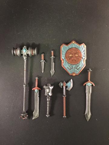 DWARF WEAPON PACK - Mythic Legions