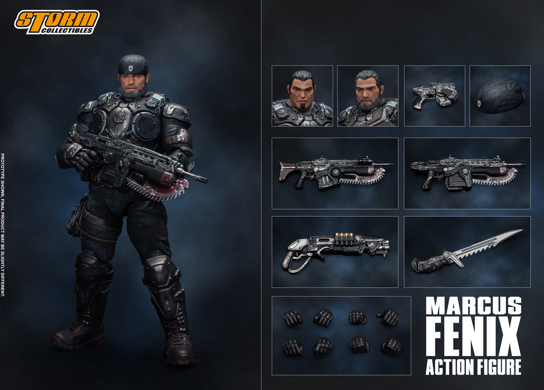 **PRE-ORDER** - MARCUS FENIX - Gears Of War - Storm Collectibles