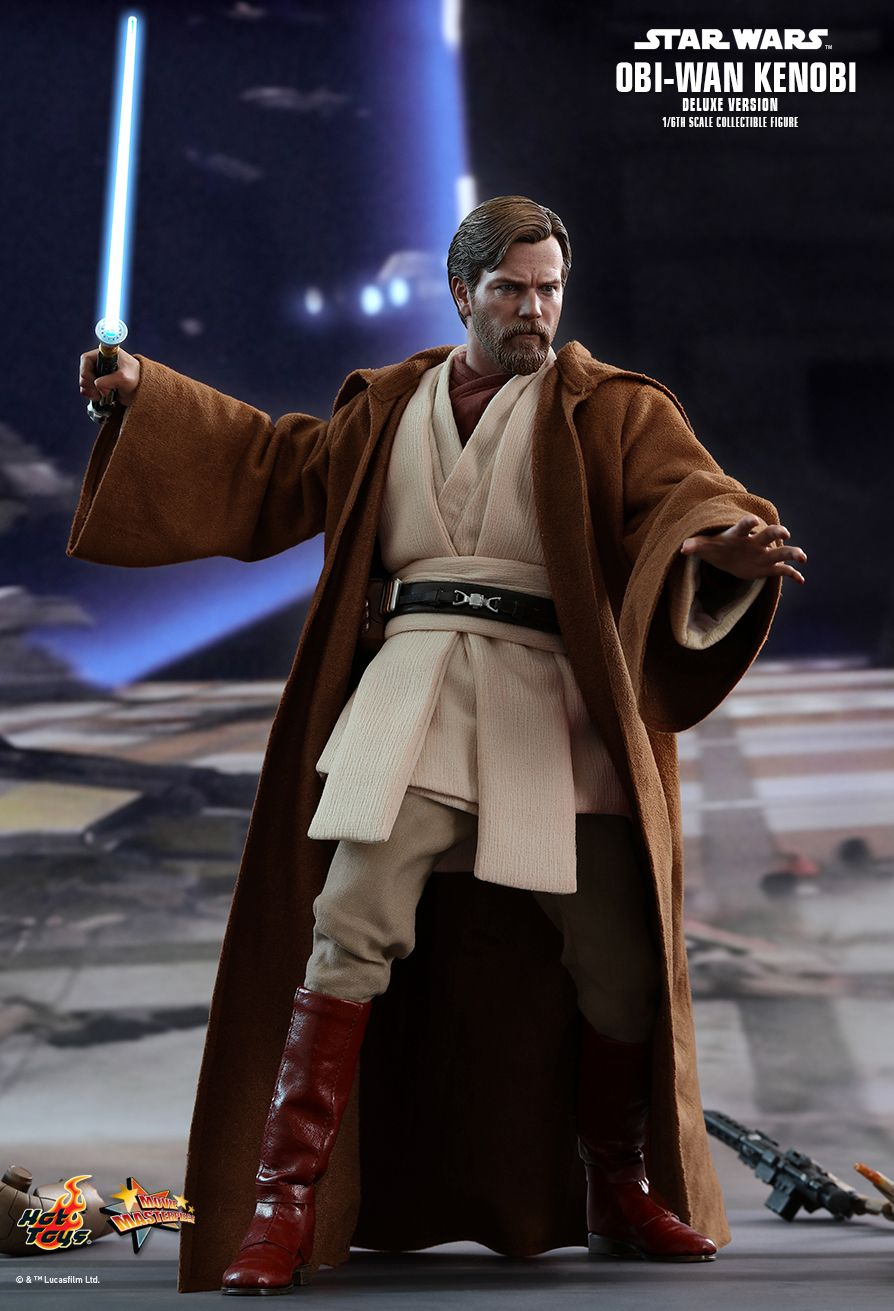 OBI-WAN KENOBI - DELUXE VERSION - Star Wars: Episode III Revenge of the Sith - 1/6th Scale figure - Hot Toys