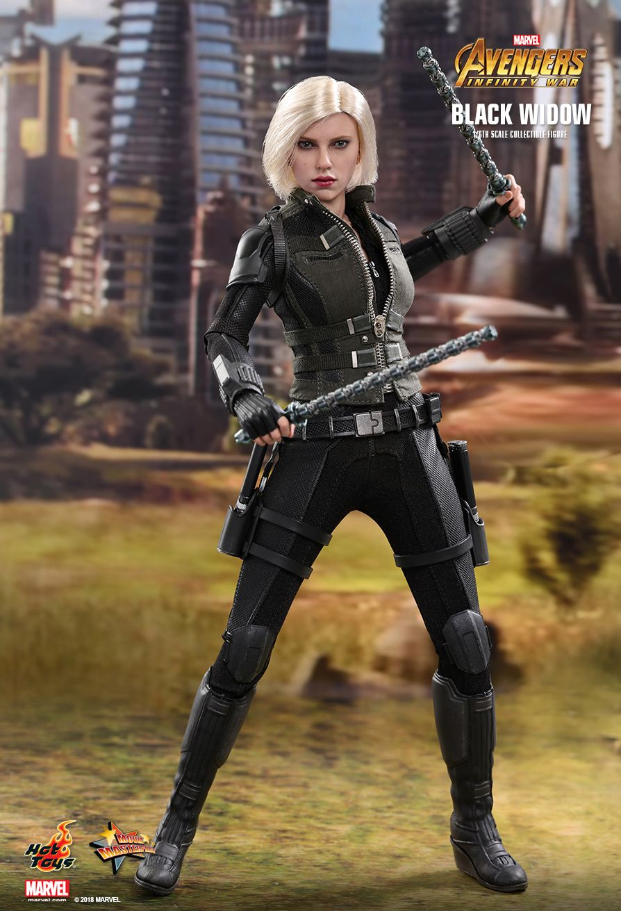 BLACK WIDOW - Avengers Infinity War - 1/6th Scale figure - Hot Toys