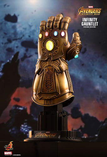 [DENTED BOX] INFINITY GAUNTLET - Avengers Infinity War - 1/4th Scale figure - Hot Toys