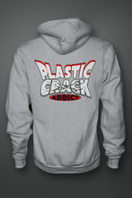 """PLASTIC CRACK ADDICT"" - Zip-Up Hoodie 