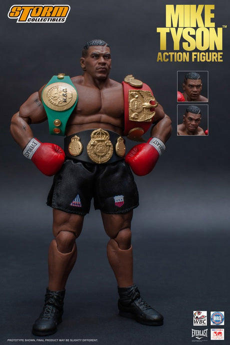 MIKE TYSON - 1/12 Scale Figure  - Storm Collectibles