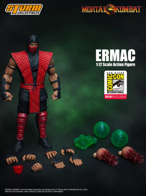 **PRE-ORDER** - ERMAC - MORTAL KOMBAT - SDCC 2018 - 1/12 Scale Figure - Storm Collectibles