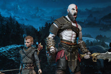 "GOD OF WAR (2018) -  Ultimate KRATOS & ATREUS 2-Pack - 7"" Action Figures - NECA"