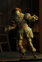 "ULTIMATE WELL HOUSE PENNYWISE - IT (2017) - 7"" Scale Action Figure - NECA"