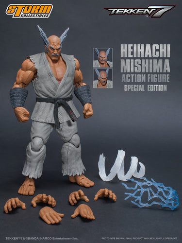 HEIHACHI MISHIMA - TEKKEN 7 - SPECIAL EDITION - 1/12 Scale Figure - Storm Collectibles