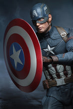 CAPTAIN AMERICA - Civil War -  1/4 Scale Action Figure - NECA