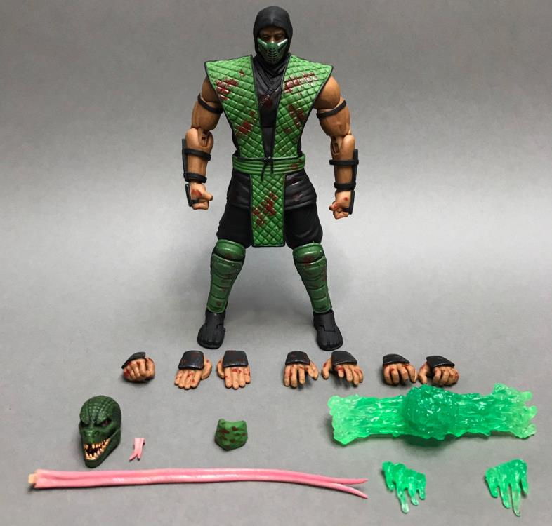 MORTAL KOMBAT- REPTILE - **SPECIAL EDITION** - 1/12 Scale Action Figure - Storm Collectibles